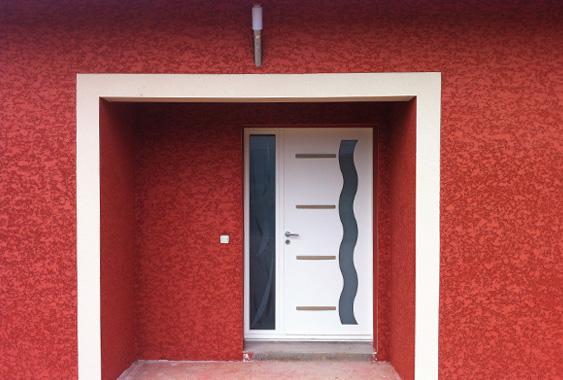 facade jura sur batiment neuf sti fa ades. Black Bedroom Furniture Sets. Home Design Ideas