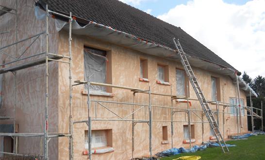 Ravalement et rénovation de façades
